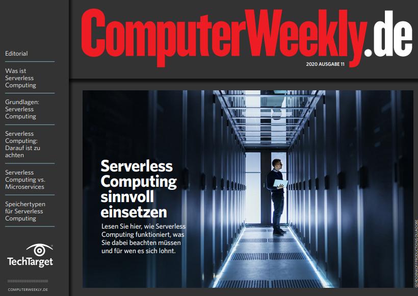Serverless Computing sinnvoll einsetzen