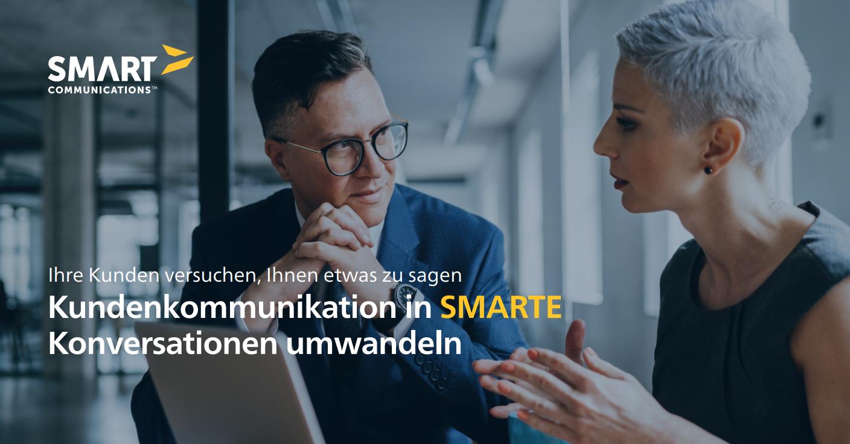 Kundenkommunikation zu SMARTEN Konversationen entwickeln