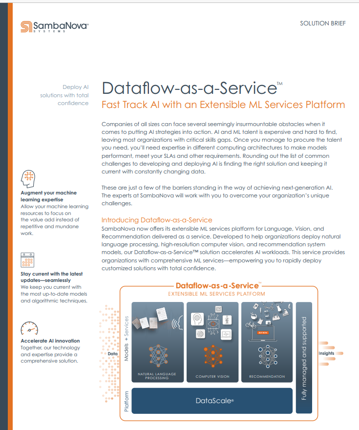 Dataflow-as-a-Service