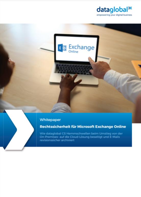 Rechtssicherheit für Microsoft Exchange Online