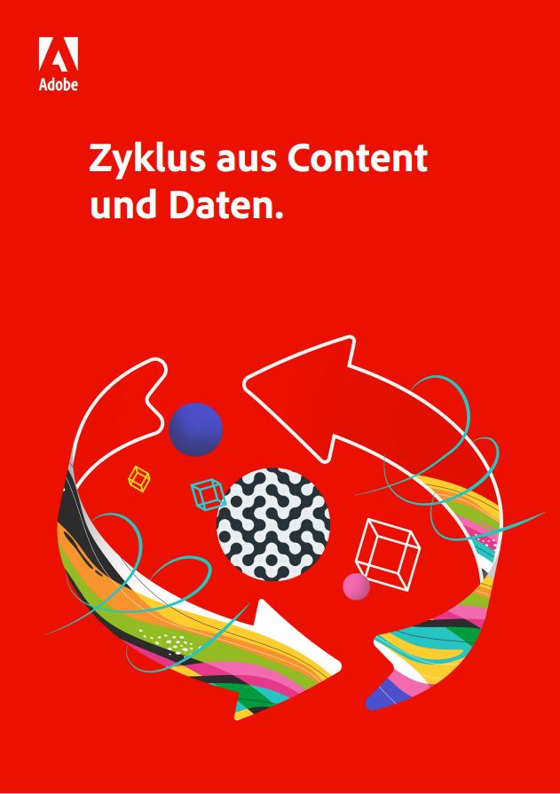 Zyklus aus Content  und Daten